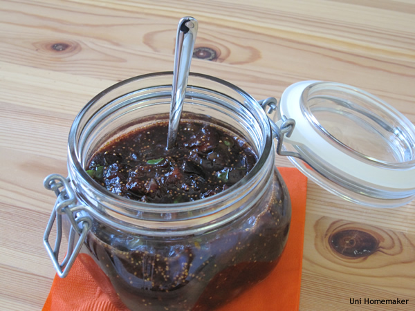 Fig and Port Chutney