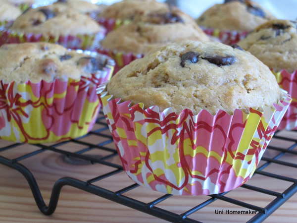 Bacon and Chocolate Muffins