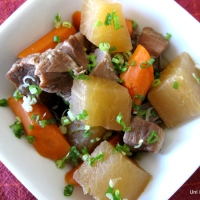 Chinese Pork Stew with Daikon