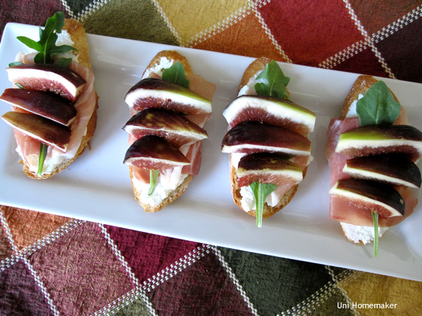 Crostini With Whipped Ricotta, Persimmon, And Prosciutto ...