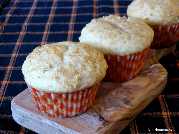 Honey Meyer Lemon Olive Oil Muffins