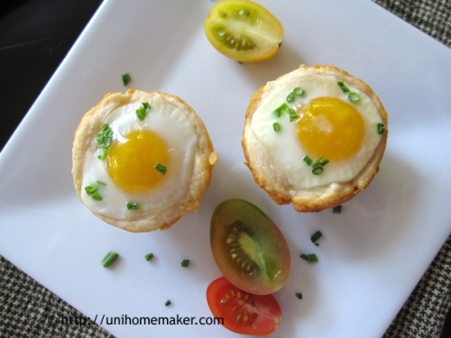 Quail Egg Crescent Cups