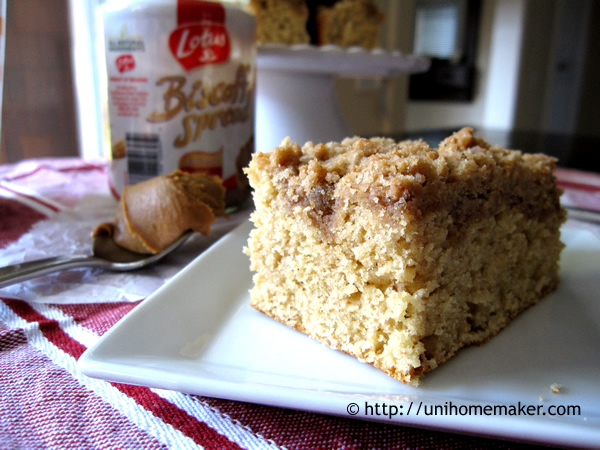 Biscoff Coffee Cake