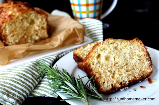 Grapefruit Rosemary Teacake