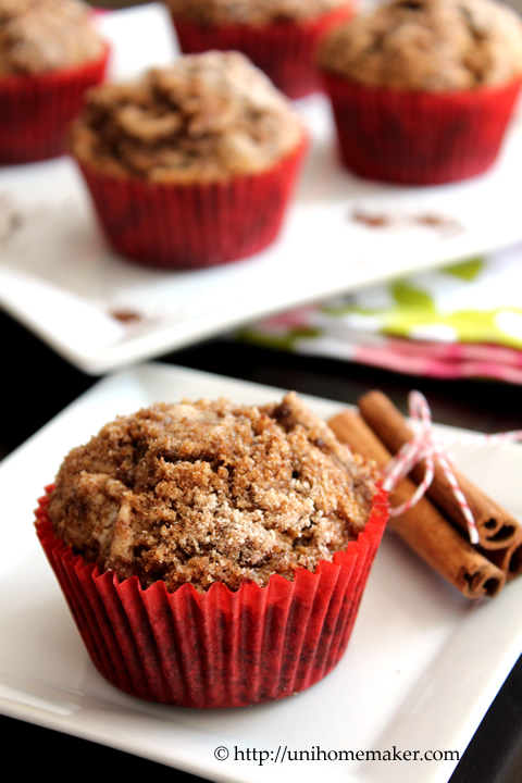 Coffee Streusel Muffins