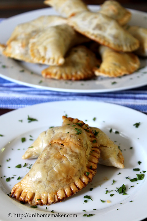 Beef Empanadas with Olives and Raisins