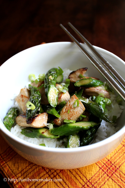 Asparagus Stir-Fry Recipe — Dishmaps