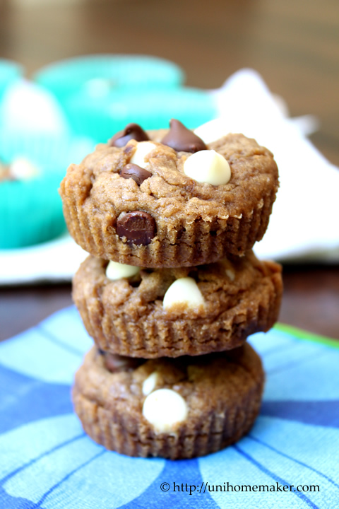 Double Chocolate Chip Blondie Bites
