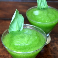 Guest Post: Lemon and Basil Frozen Daiquiri