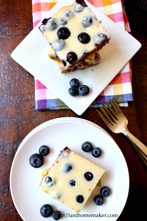 Lemon Blueberry Bars