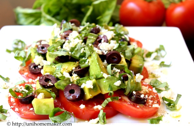 Tomato and Avocado Salad