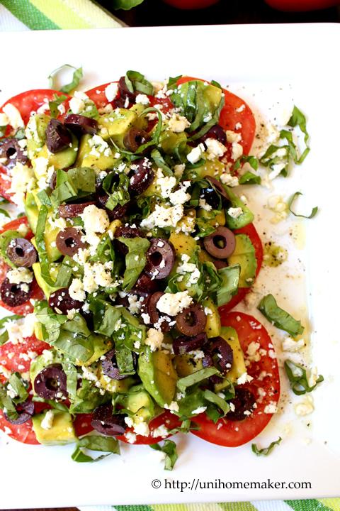 Tomato and Avocado Salad