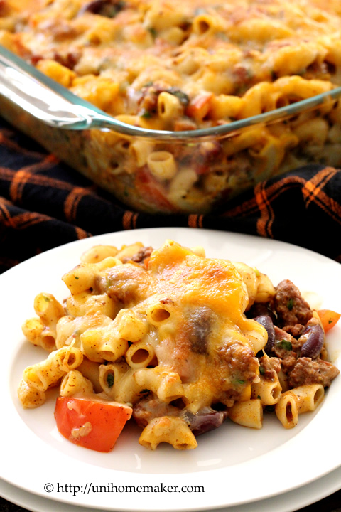 Pumpkin Chili Mac