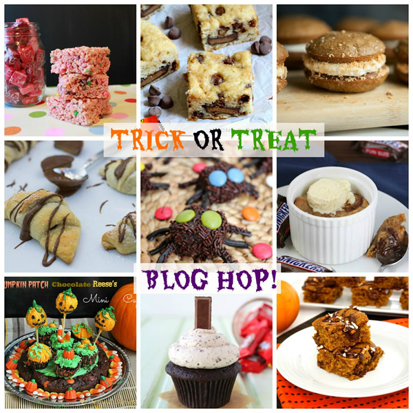 Trick or Treat Blog Hop 2013