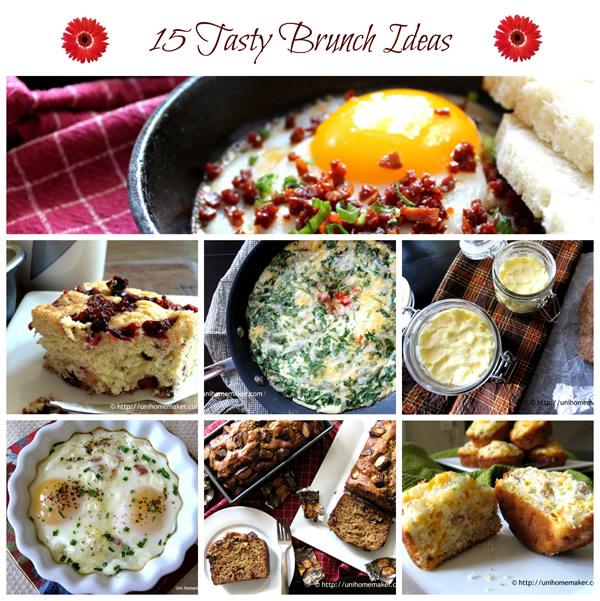 15 Tasty Brunch Ideas