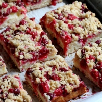 Cranberry-Apple Crumb Cake