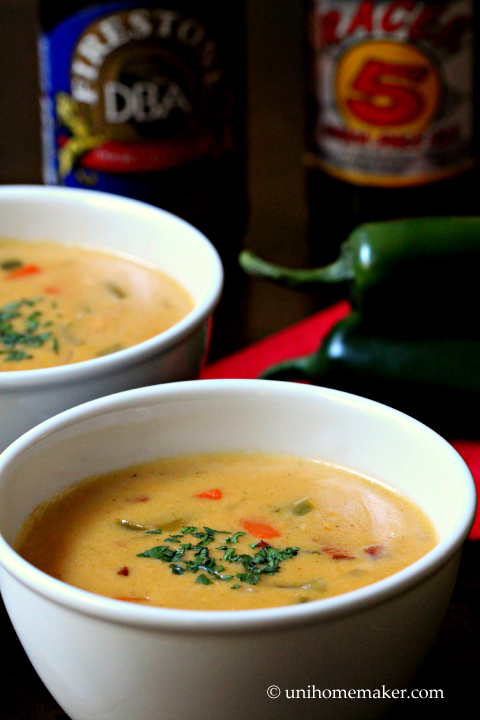 Jalapeno Beer Cheese Soup